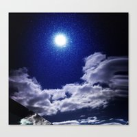 Signs In The Sky Collect… Canvas Print
