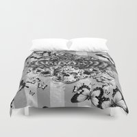 Lost And Found, Floral O… Duvet Cover