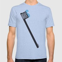 Truth Decay  Mens Fitted Tee Athletic Blue SMALL