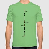 BWR No. 2 Treasure (whit… Mens Fitted Tee Grass SMALL