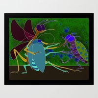 Insectango Art Print