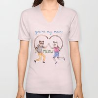 You're My Main Meow Unisex V-Neck