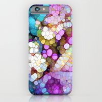 iPhone Cases featuring Happy Colors by Joke Vermeer