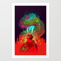 Anung Un Rama Art Print