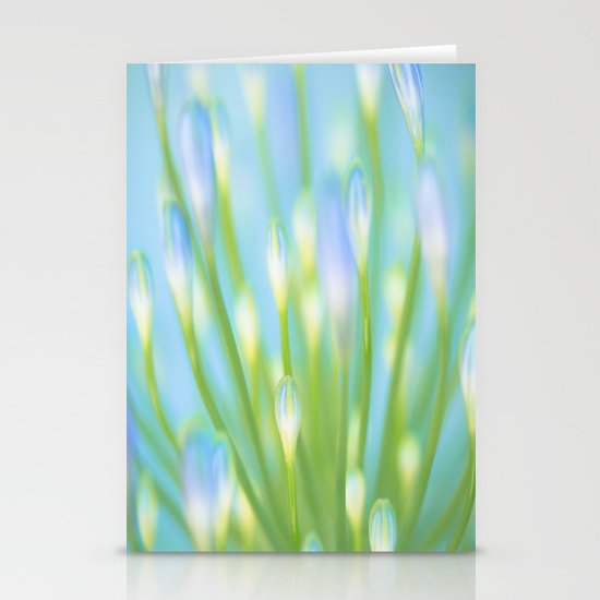 Blue & Green Stationery Card