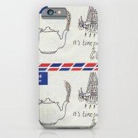 A Parisian, British Tea iPhone 6 Slim Case
