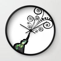 dreaming big Wall Clock