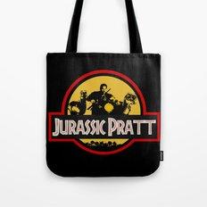 Jurassic Pratt Tote Bag