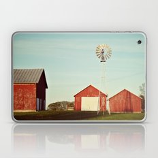 the red barn Laptop & iPad Skin