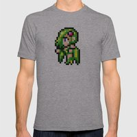 Final Fantasy II - Rydia Mens Fitted Tee Athletic Grey SMALL