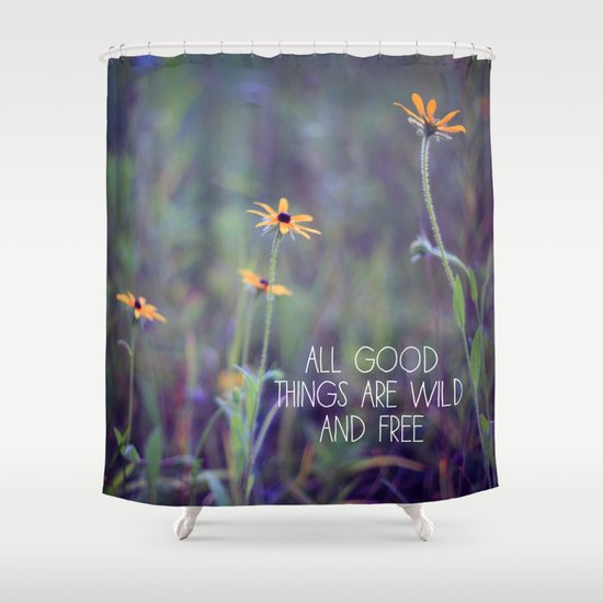 All Good Things (Daisy) Shower Curtain