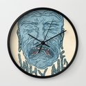 A PORTRAIT OF EVERYONE IN THE WORLD Wall Clock