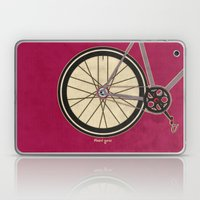 Single Speed Bicycle Laptop & iPad Skin