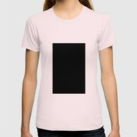 Vader (Black #5) Womens Fitted Tee Light Pink SMALL
