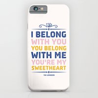 I Belong With You iPhone 6 Slim Case
