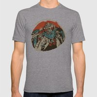 Mechanical Mayhem Mens Fitted Tee Athletic Grey SMALL