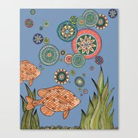 One Fish Two Fish Canvas Print