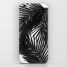 Palms Black iPhone & iPod Skin