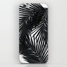 Palms Black iPhone & iPod Skin