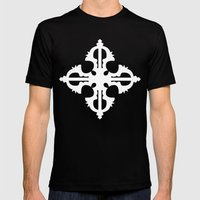 Bajra Mens Fitted Tee Black SMALL