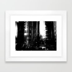 Describe Where You Are _2 Framed Art Print