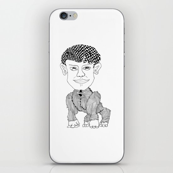 Monkey Boy iPhone & iPod Skin