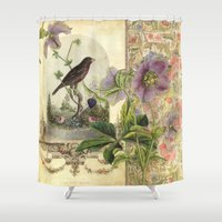The Pet Bird Shower Curtain