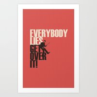 Everybody Lies Art Print