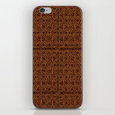 Celtic Carving - Not Your Average Knot iPhone & iPod Skin