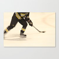 Traveling with the Puck Canvas Print