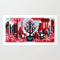 Altar Piece Art Print