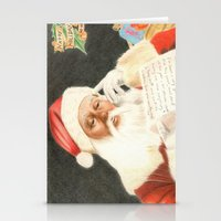 Letter to Santa Claus Stationery Cards