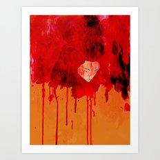 Blood Mania Art Print