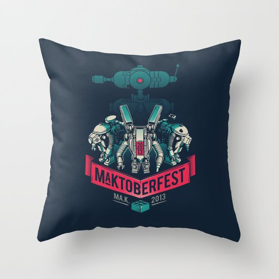 MaKtoberfest 13 Throw Pillow