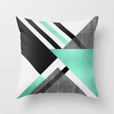 Foldings Throw Pillow