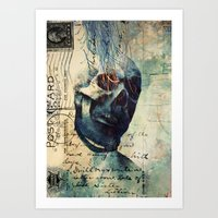 Skullman Art Print