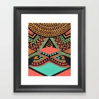 PeruNative Framed Art Print