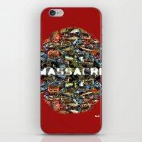 MASSACRE iPhone & iPod Skin