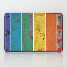 texture rainbow iPad Case