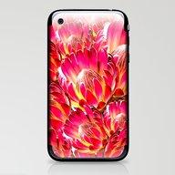 PinkFlower9 iPhone & iPod Skin