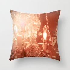 cinnamon chandelier Throw Pillow