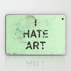 I HATE ART / PAINT Laptop & iPad Skin