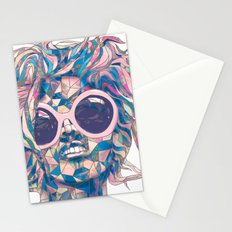 Pastel Light Four Eyes Stationery Cards