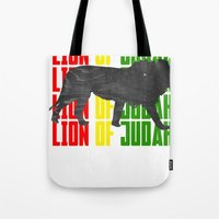 Lion (The Living Things … Tote Bag