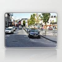Taxi Stand, Eyre Square,… Laptop & iPad Skin