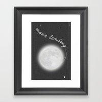 Moon Landing! Framed Art Print
