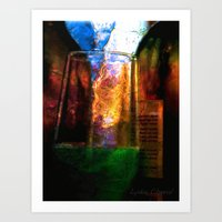 night bar Art Print