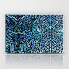 Blue Geometric Mosaic Laptop & iPad Skin