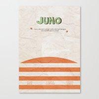 Juno - Alternative Movie Poster Canvas Print