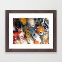 Feeding Frenzy Framed Art Print